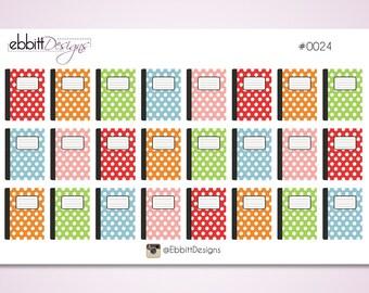 Notebook Planner Stickers {0024}