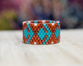 PEYOTE RING - Indian Summer Collection - Ring B