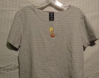 Striped Tweety Bird Shirt