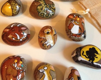 Story Stones.. The Gruffalo's Child.. Childs play, Imaginative play, child's nursery, Playroom. Ideal for the little ones in your life.