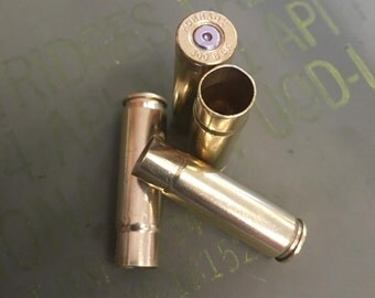300 AAC Blackout Rifle Recycled Brass Bullet Casings - Cleaned & Polished - 100 Count Available - Reloading or Craft