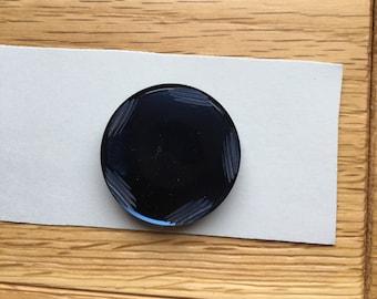 Dark Navy Button