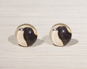 Crow Earrings, Crow jewellery, Crow Stud Earrings, gothic, emo style