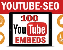 Embed your Youtube video to 100 blogs