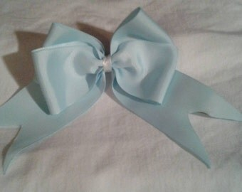 Large 4 loop Bow with Tails