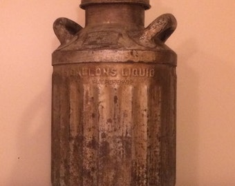 Antique 5 Gallon Oil Can