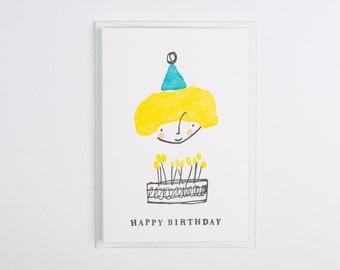 Little Prickle - Happy Birthday Card