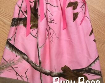 Camo Pillowcase Dress