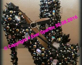 Dark Unicorn Crystal Customised Heels