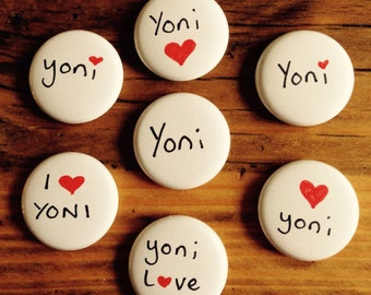 The Yoni Badge