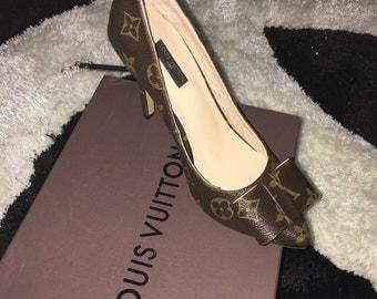 Louis vuitton pumps shoes heels size 5