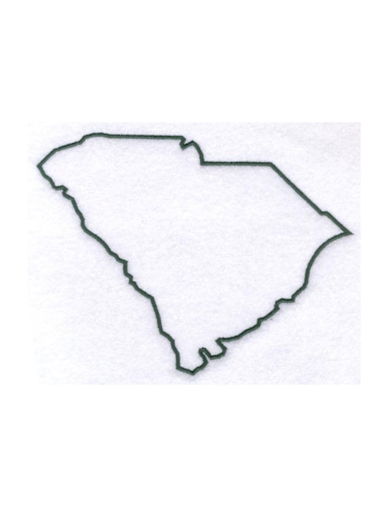 South Carolina Stencil Made From 4 Ply Mat By