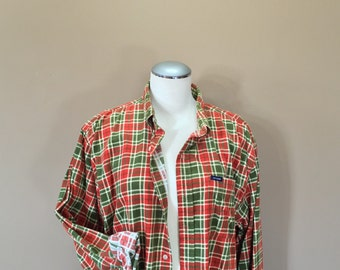 Flannel Shirt / Oversized Grunge Flannel / 90s Flannel / Oversized Flannel / 90s clothing