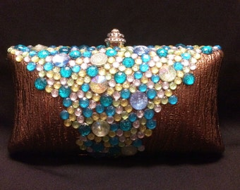 SeaFoam Evening Clutch