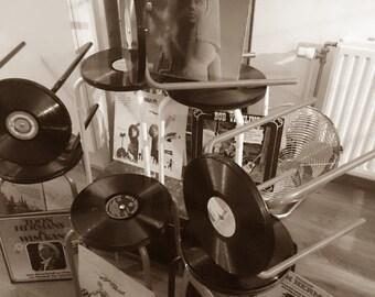 Vinyl Stools