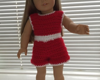 American Girl Doll Shorts Outfit With Shoes