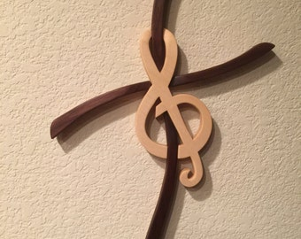 Cross and Treble Clef