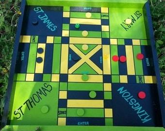 Jamaica Flag Ludi Board