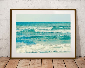 Waves | Beach Backdrop, Ocean Waves, Ocean Photo Photography, Coastal  Photography, Beach