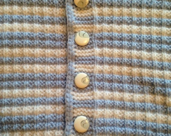Hand Made Baby Boy Sweater