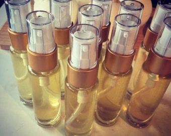 Aphrodisiac massage oil.