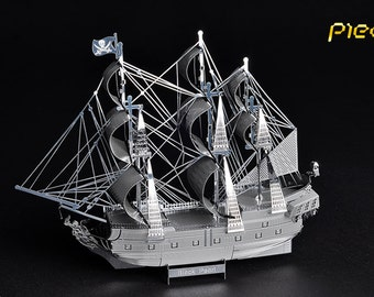 3d puzzle-metal- model- Pirates of the Caribbean -The Black Pearl