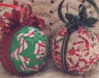 Quilted Ornaments (Item OR044)