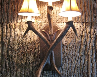 Antler Wall Sconce