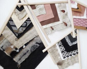 Tipis wood & textile