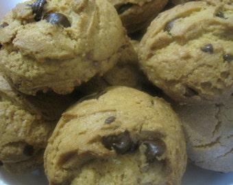 Crispy chocolate chip cookie scones, chocolate chip cookies, cookies