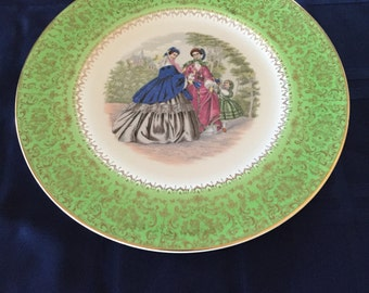 Imperial Salem China Service Plate