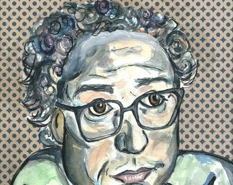 Young Bernie Print