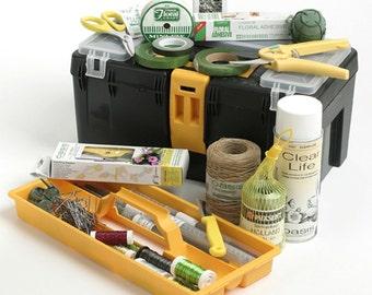 Floristry Tool Box Flower Arranging Kit