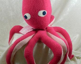 Stuffed octopus, octopus toy, plush octopus, octopus stuffed animal, octopus plushie, plush octopus, stuffed sea creature