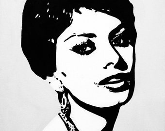 Sophia Loren Canvas Print
