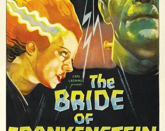 Bride of Frankenstein Movie 11x17