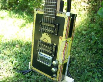 Standard 6 String Cigar Box Guitar