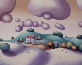 Strange Clouds - Limited Edition Print - Landscape Print