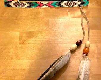 Native American inspired headband.