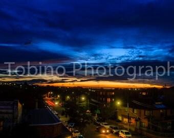 Maroubra Australia Sunset Photography Print  Art