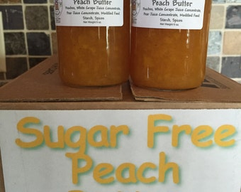 Sugar Free Peach Butter, Fruit Butter, Peach