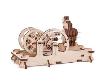 Engine 3D puzzle / 3D Wooden Puzzles / Mechanical 3D puzzle