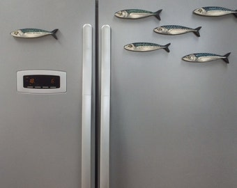 Mackerel Fish Fridge Magnet