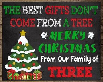Christmas Pregnancy Announcement, Christmas Baby, announcement, maternity, gift, Pregnancy reveal christmas, pregnancy chalkboard, santa