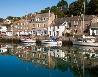Padstow Harbour Reflections
