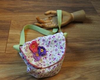 Adorable little girly floral bag