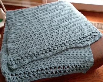 Crocheted Lap Throw