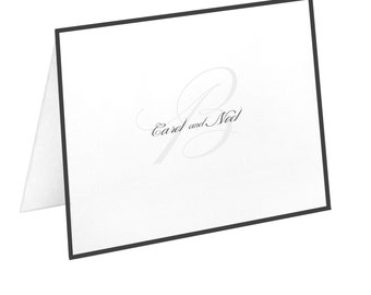 Personalized Couples Stationery Set & Note Cards | The Enchanted Envelope