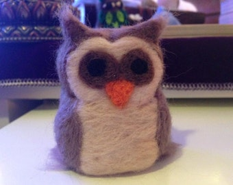 Needle Felted Owl - Made to Order