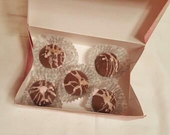 Mint Chocolate Truffles (soap)